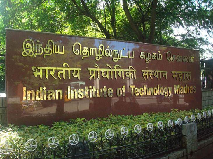 Indian Institute of Technology Madras sign in various languages